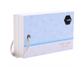 Giấy Note Motto Flash Cards 90x55mm CYFC90-BL
