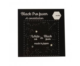 Giấy Note Motto Black IRO Fusen 75x75mm IRBF75-SE