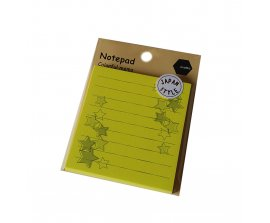 Giấy Notepad Motto 74x81mm CYNPST-YE